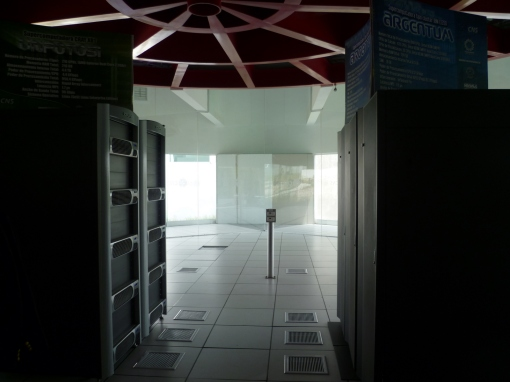 impressive supercomputing center